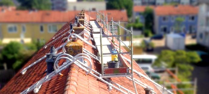 GW, gevelonderhoud, schoorsteen renovatie