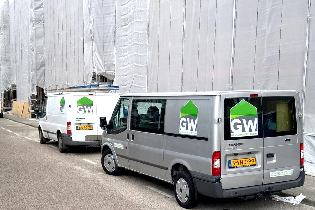GW, Gevelrenovatie 460 woningen