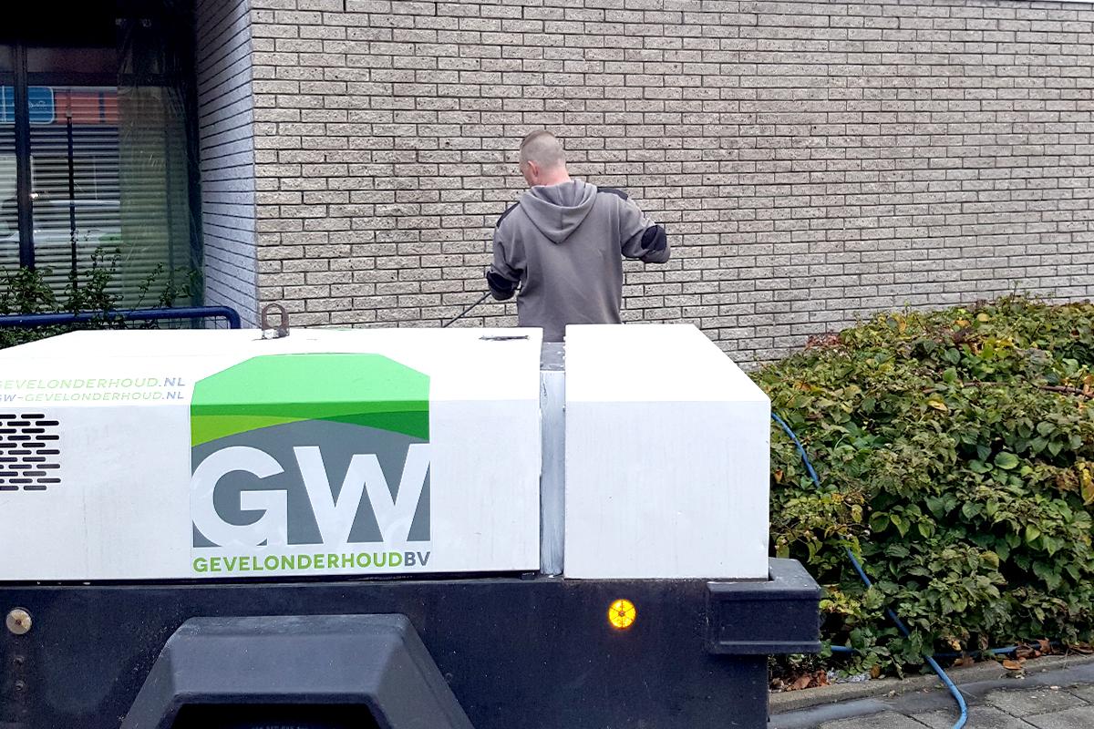 GW, graffiti verwijderen